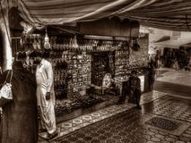Markteinkaufen in Dubai Lizenzfreies Stockfoto