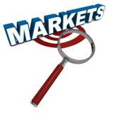 Markten vector illustratie
