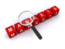 markten royalty-vrije illustratie