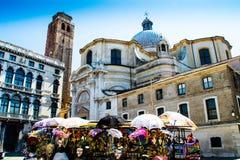 Markten in Rome stock foto