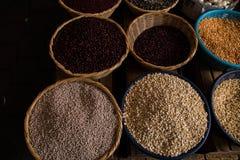 Markten van Antigua stock foto's