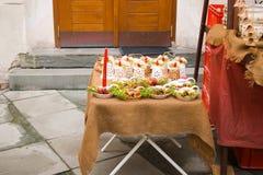 Markten van Kerstmis Royalty-vrije Stock Foto's