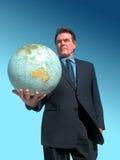 Markten wereldwijd royalty-vrije stock afbeelding