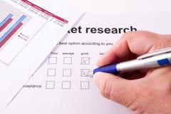 Marktforschung Lizenzfreie Stockfotos