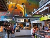 Markthal Ρότερνταμ, οι Κάτω Χώρες Στοκ εικόνα με δικαίωμα ελεύθερης χρήσης