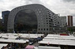 Markthal die Rotterdam bouwen Stock Afbeelding