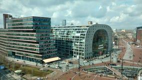 Markthal Rotterdam Arkivbilder