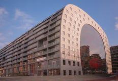 Markthal Rotterdam Arkivfoto