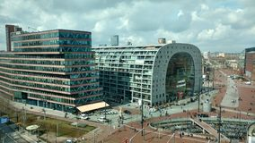 Markthal Rotterdam Stock Images
