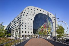 Markthal in Rotterdam Stock Photography