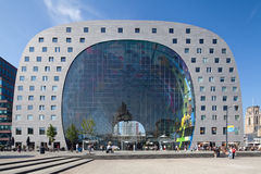 Markthal in Rotterdam. The new Markthal with a  indoor market in Rotterdam Royalty Free Stock Photography
