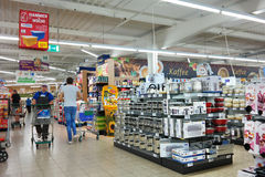 Marktkauf Hypermarket Royalty Free Stock Photography
