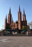Marktkirche à Wiesbaden Photos libres de droits