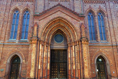 Marktkirche Stock Afbeeldingen