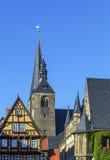 Marktkirche em Quedlinburg, Alemanha Imagem de Stock