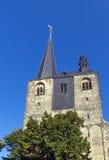 Marktkirche em Quedlinburg, Alemanha Imagens de Stock