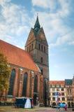 Marktkirche in Hanover Stock Photo