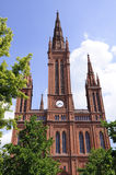 Marktkirche in Wiesbaden, Germany Stock Photos