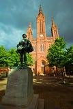 Marktkirche in Wiesbaden, Germany Royalty Free Stock Image