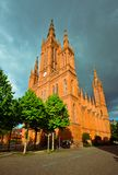 Marktkirche in Wiesbaden, Germany Stock Photos