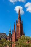 The Marktkirche in Wiesbaden, Germany Royalty Free Stock Photo
