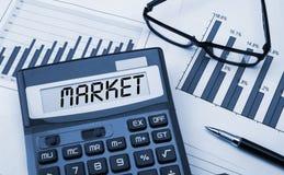 Marktkonzept Stockfoto