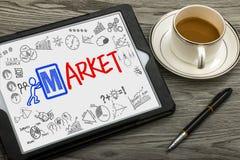 Marktkonzept Lizenzfreie Stockbilder