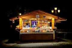 Marktkraam in Riva del Garda Stock Afbeeldingen