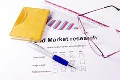 Marktonderzoek Royalty-vrije Stock Fotografie