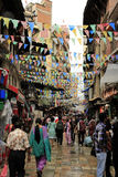 Marktplaats in Katmandu royalty-vrije stock foto's