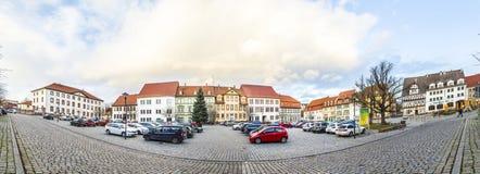 Marktplaats in Slechte Frankenhausen Stock Foto's