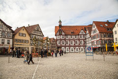 Marktplatz广场 免版税库存图片