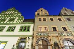 Free Marktplatz Architecture In Weimar Stock Photo - 61163130