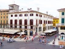 Marktplatz-Büstenhalter, Verona, Italien Lizenzfreies Stockfoto