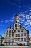 Marktplatz in Biberach ein der Ris Deutschland stockfotos