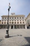 Marktplatz colonna Rom Italien Stockfotografie