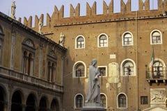 Marktplatz dei Signori in Verona Stockfoto