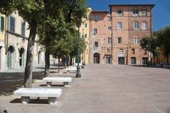 Marktplatz della Pera, Pisa, Italien Lizenzfreies Stockbild