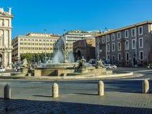 Marktplatz della Republica, Rom - Italien lizenzfreies stockbild