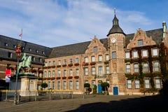 Marktplatz a Dusseldorf Immagine Stock