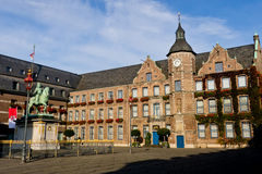 Marktplatz en Düsseldorf Imagen de archivo