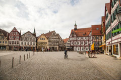 Marktplatz fyrkant Fotografering för Bildbyråer