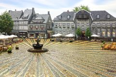 Marktplatz in Goslar, Germany Royalty Free Stock Images