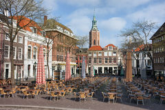 Marktplatz Grote Markt in Den Haag Lizenzfreie Stockfotografie
