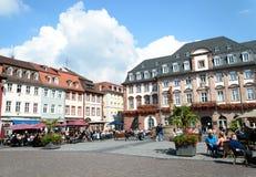 Marktplatz Heidelberg, Niemcy Obraz Stock