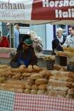 Marktplatz-Italien-Ereignis 2017 in Horsham, England Stockfoto
