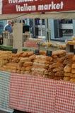 Marktplatz-Italien-Ereignis 2017 in Horsham, England Stockbild