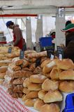 Marktplatz-Italien-Ereignis 2017 in Horsham, England Stockfotografie