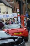 Marktplatz-Italien-Ereignis 2017 in Horsham, England Stockbilder