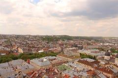 Marktplatz Lemberg Lizenzfreie Stockfotos